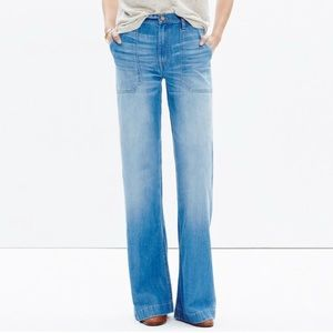 Madewell Wide-leg Jeans in Shea Wash